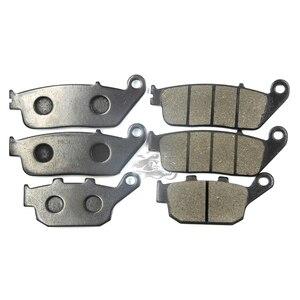 Передние + задние тормозные колодки Набор для Honda CBR250RR MC19 MC22 и CBR400RR NC23 NC29 и CB400F NC27 NC36 Сверхтонкий мотоцикл