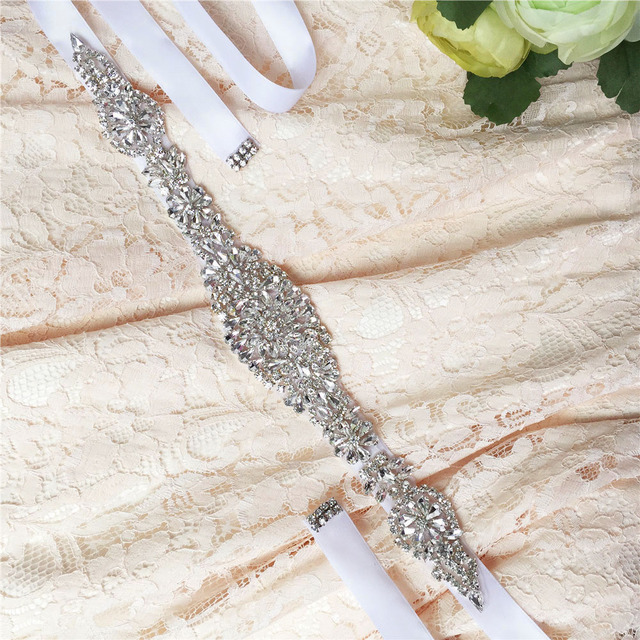 TOPQUEEN FREE SHIPPING S123 Rhinestones Crystals Wedding Belts Wedding sashes,Rhinestones Crystals Bridal Belts Bridal Sashes.
