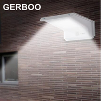 Waterproof 20 LED Solar Panels Power PIR Motion Sensor + Sound Sensor + Light Sensor Garden Outdoor Light 2PCS/LOT