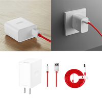 Original Warp Charger for OnePlus 7 Pro Fast Charger 30W US Power Adapter for One Plus 7 pro USB Type C Data Sync Flat Cable