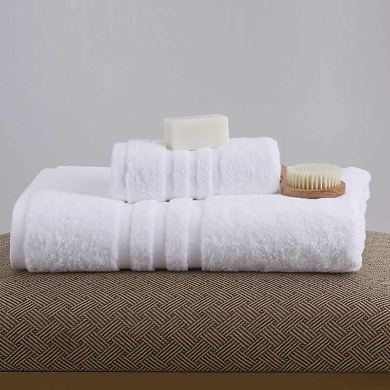 Livraison gratuite de haute qualité serviettes de bain coton épaissir hôtel beauté Salon serviette 150*80 cm coton hôtel serviette de bain