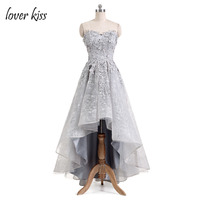 Lover Kiss Vestido De Festa Sweetheart Cheap Beautiful Formal Evening Dresses Lace Ball Gown Evening Dress