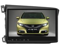 Deckless Quad Core 10 1 Android 6 0 Car DVD Player For Honda Civic 2012 With