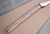 Оптовая продажа Дерево жизни инкрустация 24 Лады клен гриф 6 струн электрическая гитара шеи, может быть настроен 9147