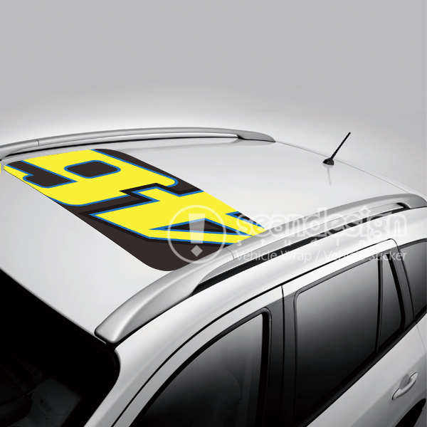 Rossi vr 46 d d p auto roof decal sticker one way vision sticker in car stickers from automobiles motorcycles on aliexpress com alibaba group