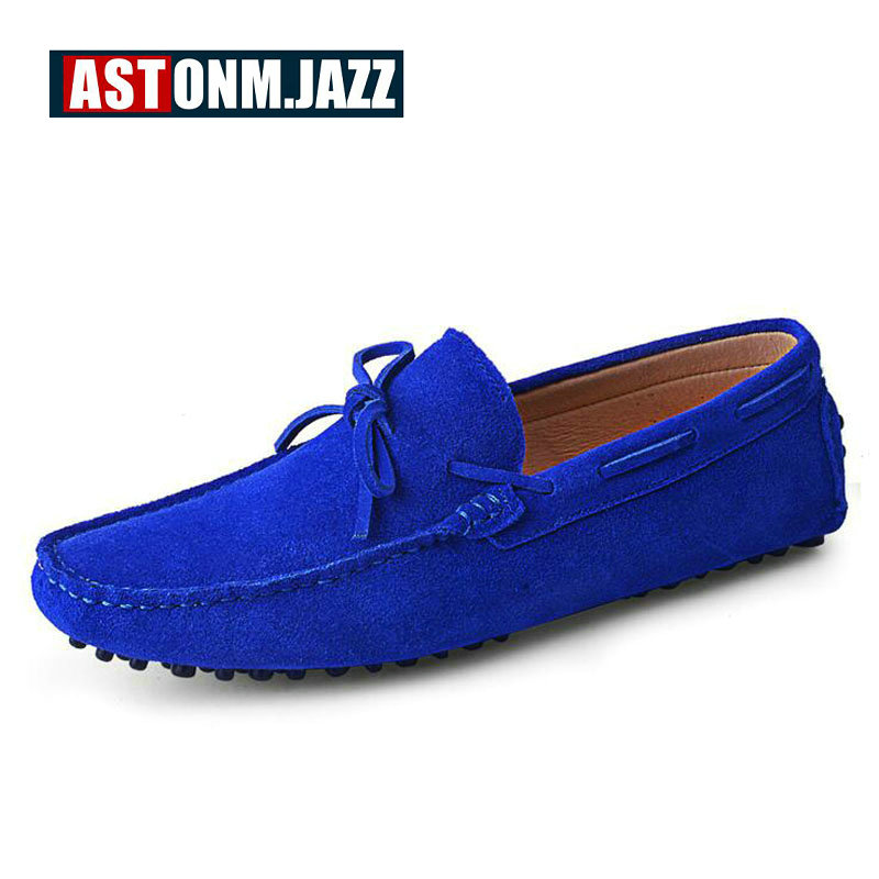 Men s Suede The Penny Loafers Breathable Driver Shoes Slip on Boat Shoes For Men Fashion