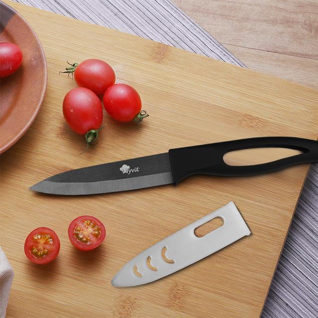 Kitchen Zirconia Knife with Plastic Handle