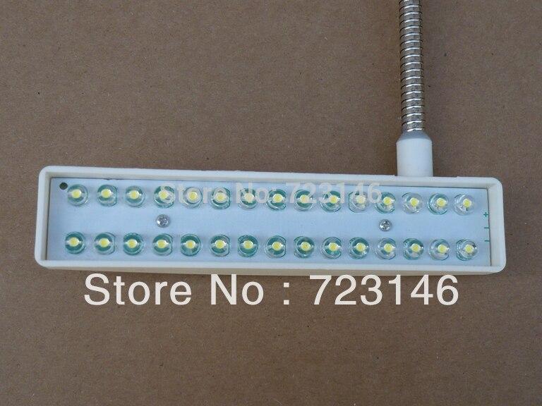 2016 nové šicí stroje část pracovní lampa šicí stroje lampa osvětlení 30 SMD LED pro pafaff juki durkopp bratr typický