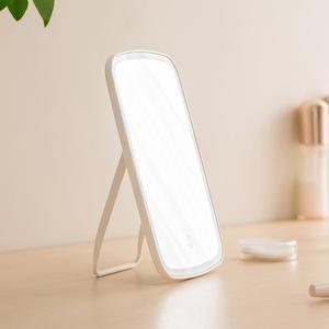 Image 5 - Xiaomi Espejo LED plegable portátil para maquillaje, espejo de luz Natural LED para dormitorio, hogar, escritorio, batería larga