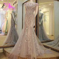 AIJINGYU Tulle Wedding Dress Italian Gowns Mother Of The Groom Big Size Beautiful Online 2019 Romantic Long Bridal Gown