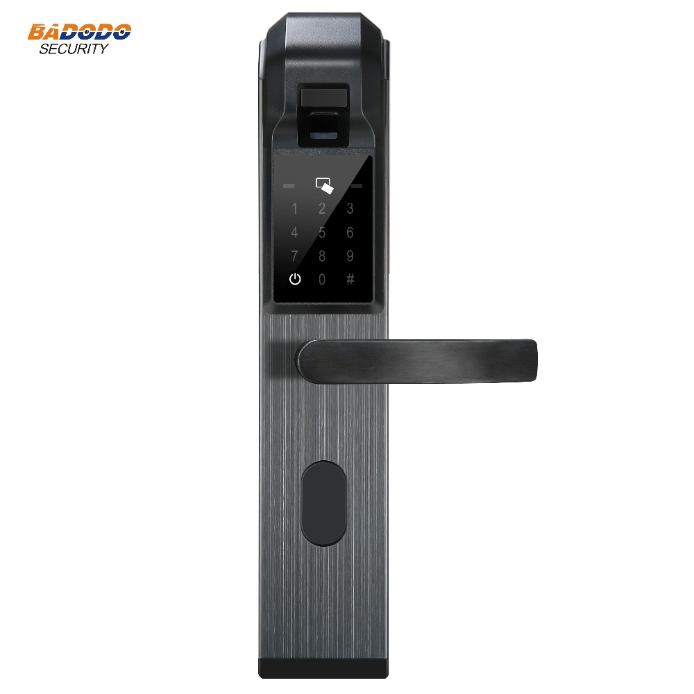 Fingerprint Lock with password card mechanical key For Home security Anti theft Intelligent Lock Biometric electric