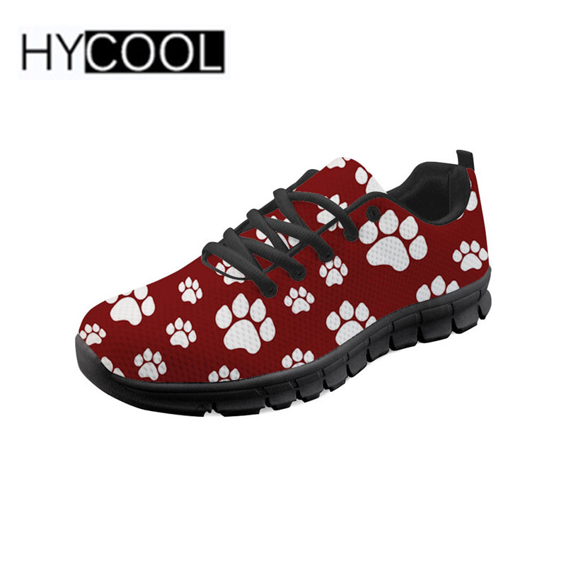 Womens lightweight Athelitic Running shoes Pugs Dogs Bulldog Puppy Life lace-up breathable fitness sneakers