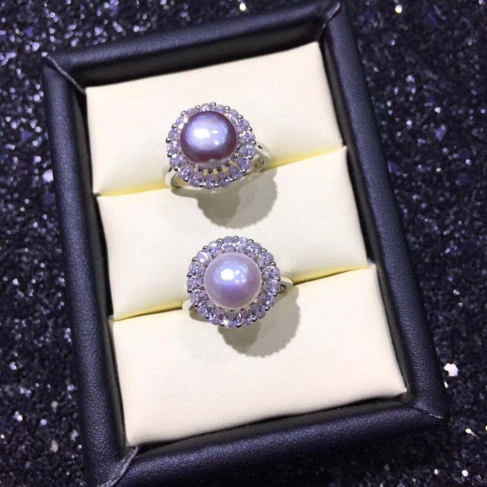 2 สีแฟชั่น Pearl Ring, แหวนผลงานเครื่องประดับแหวนปรับอุปกรณ์อะไหล่ Charm อุปกรณ์เสริมเครื่องประดับ-ใน อุปกรณ์ค้นหาอัญมณีและส่วนประกอบ จาก อัญมณีและเครื่องประดับ บน AliExpress - 11.11_สิบเอ็ด สิบเอ็ดวันคนโสด 1