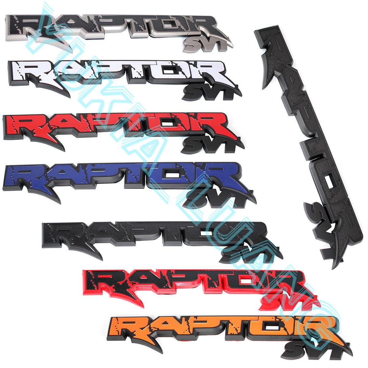 14.7 RAPTOR SVT Tailgate Emblem Rear Badge OEM Sticker for Ford F150 2010-2014 ampeg svt 610hlf