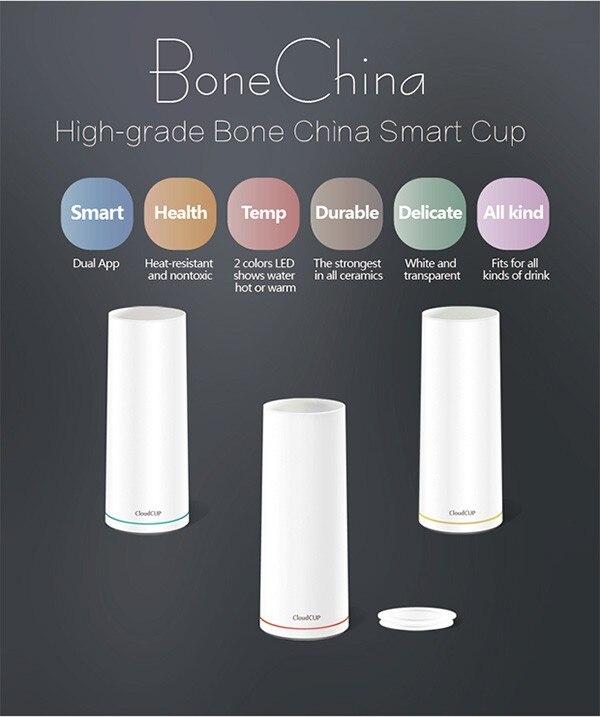 Облако чашки здорового новейшая лакированной керамическая чашка Смарт вакуум Футбол Спорт косметологии мониторинг оповещения здоровья ча...