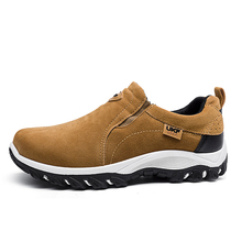 Waterproof Hiking Shoes For Men Suede Mountain Climbing Shoes Quality Outdoor Trekking Shoes Breathable Hiking Hunting Boots