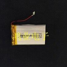 3,7 V литий-полимерный аккумулятор 434369 1400 мАч MP4 MP5 рекордер gps электронный собачий Перезаряжаемые литий-ионный аккумулятор