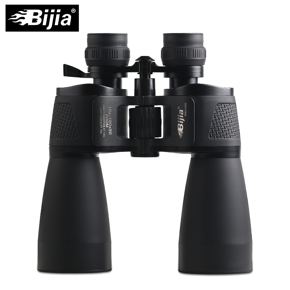 BIJIA 10-180X90 long range zoom hunting Telescope professional binoculars high definition living waterproof