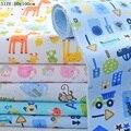 Tamaño 80x100 cm cojín cambiante Del Bebé Pañales cambiador de pañales del paño del bebé pañales del bebé pañales Impermeables fralda pañales reutilizables