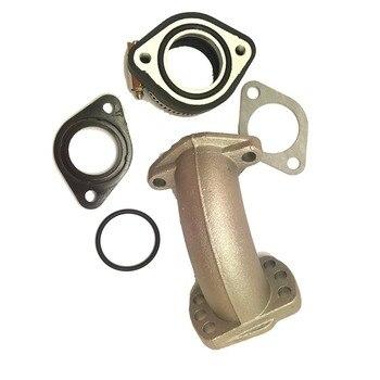 Intake set Mainfold Adapter Inlet Pipe Kits For Mikuni VM24 OKO KOSO KEIHIN PE24 PE26 PE28 Carburetor