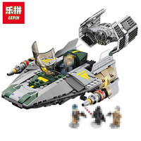 Lepin Blocks 05030 StarWars Series 722Pcs Titanium Fighters Wings Fighter Building Blocks Bricks Toys Designer Gifts
