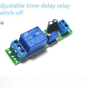 Delay Time Relay Module Timing