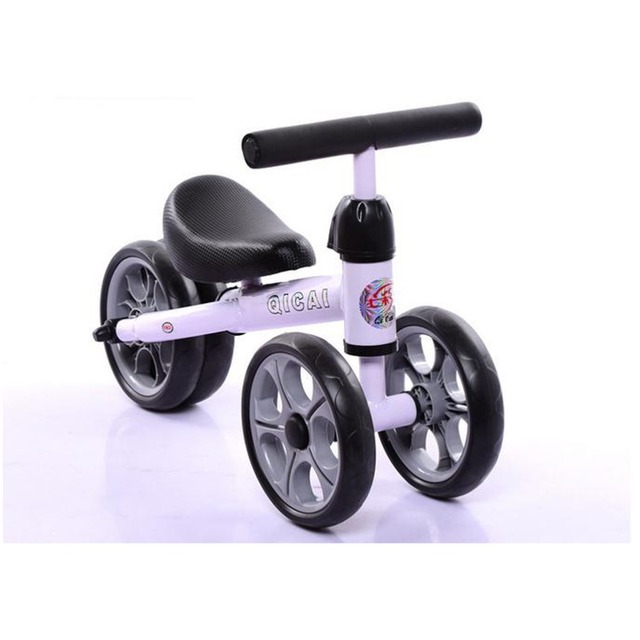 Free love@Children's scooter 1- 2 years old balanced car tricycle infants three-wheel bike walkers