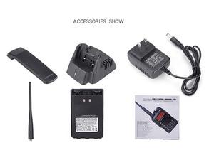 Image 3 - UV 8DR dual band walkie talkie 136 147/400 520mhz LCD screen gruppe rufen signal anruf dual PTT CB radio leistungsstarke radios