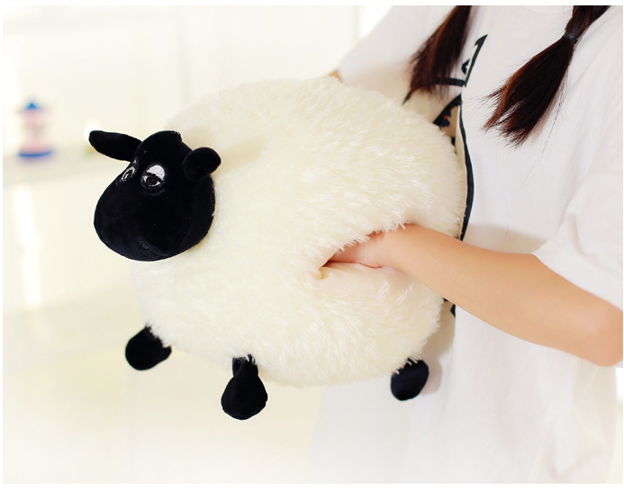 Sale 25 cm-60 cm Cartoon Sheep Shaun Plush Toys Plush kawaii cotton Animal Sheep Plush Dolls Toys for Kids . 70cm rabbit plush animal kawaii bunny toys lovely dolls easter plush bunny dolls birthday gift flower rabbit toys plush doll