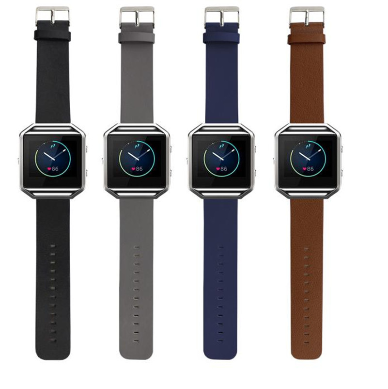 Best Selling Quality Luxury Genuine Leather Watch band Wrist strap For Fitbit Blaze Smart Watch Hot Sale New best band куртка для мальчика be380323 коричневый best band