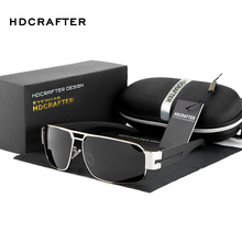 HDCRAFTER 2018 Mens Sun Glasses Fashion Polarized Glasses Dr