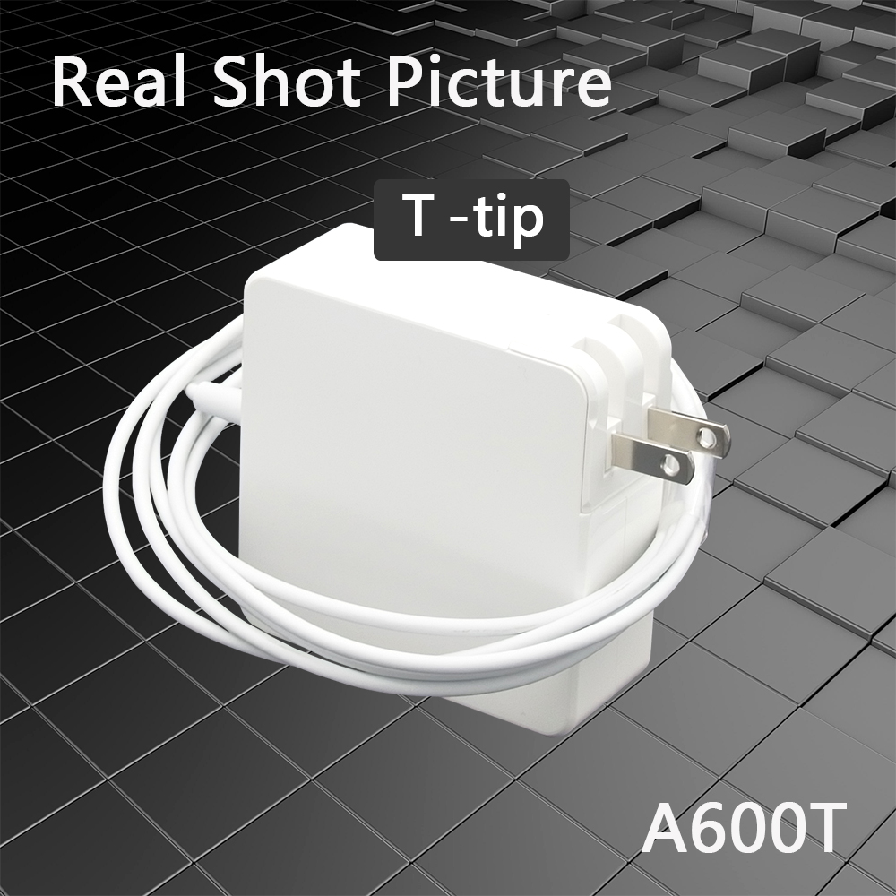 MacBook Pro Charger, 60W T-Tip Magsafe 2 Replacement, Power Adapter Compatible With Mac Book Air Charger( After Late 2012)