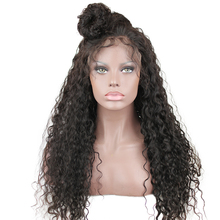 hot deal buy deep curly 13x6 250 density human hair lace front wigs baby hair pre plucked brazilian remy hair human hair wig women eseewigs