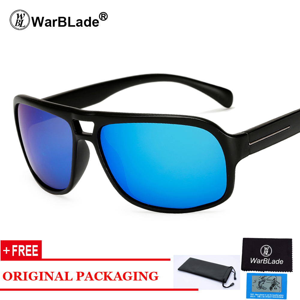 2018 Classic Mens Square Polarized Sunglasses Men Women Vintage Driving Mirror Sun Glasses UV400 Rays polaroid glasses ...
