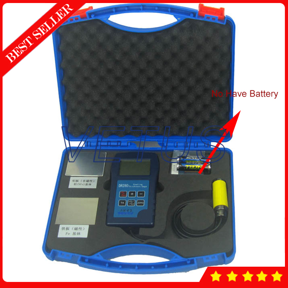 DR280 Dry Film Thickness Gauge with measuring range 0~1250um