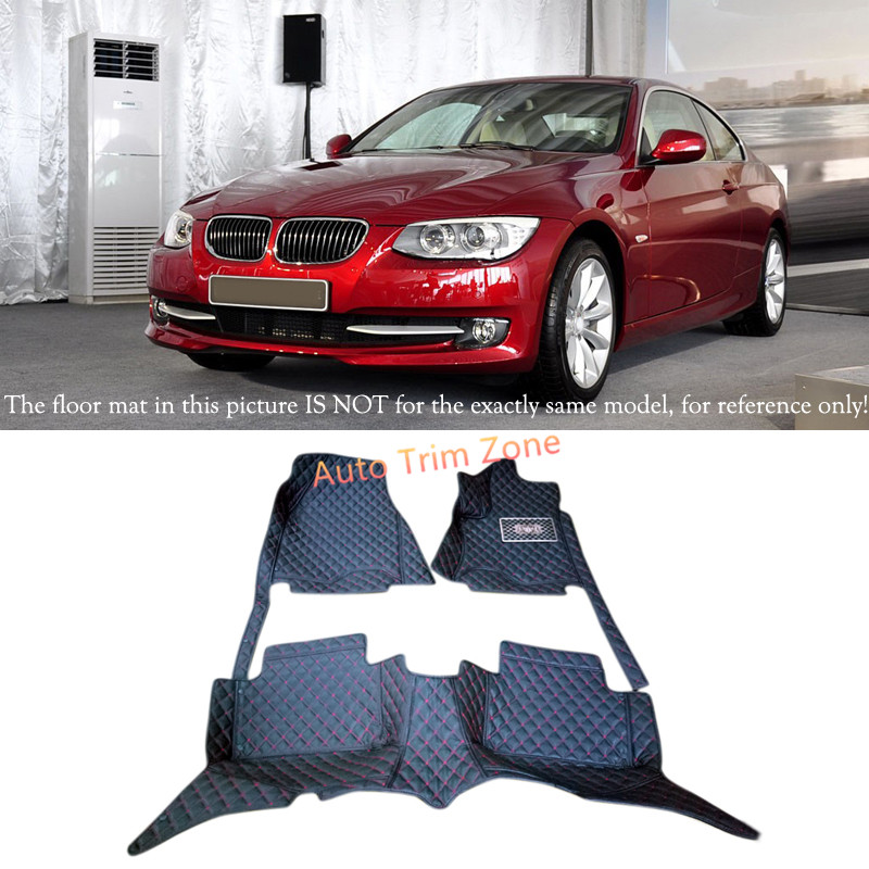 Interior Floor Mats & Carpets Foot Pads Protector For BMW 3 Series E90 2010 - 2012