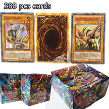 288pcs/set Anime Japan Yu Gi Oh Game Cards Carton Yugioh King Elf Game Boys Girl Yu-Gi-Oh Cards Collection For Children Gift Fun(China)