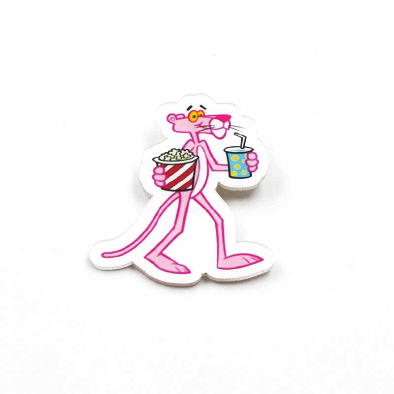 Nengdou Y56 cartoon pins for clothes flamingos icon kawaii brooch anime badges cute backpack icon bag decoration acrylic badges