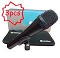 3 Шт./лот Лучшие Качества E945 Профессиональный Динамический Супер Кардиоидный Вокальный Проводной Микрофон