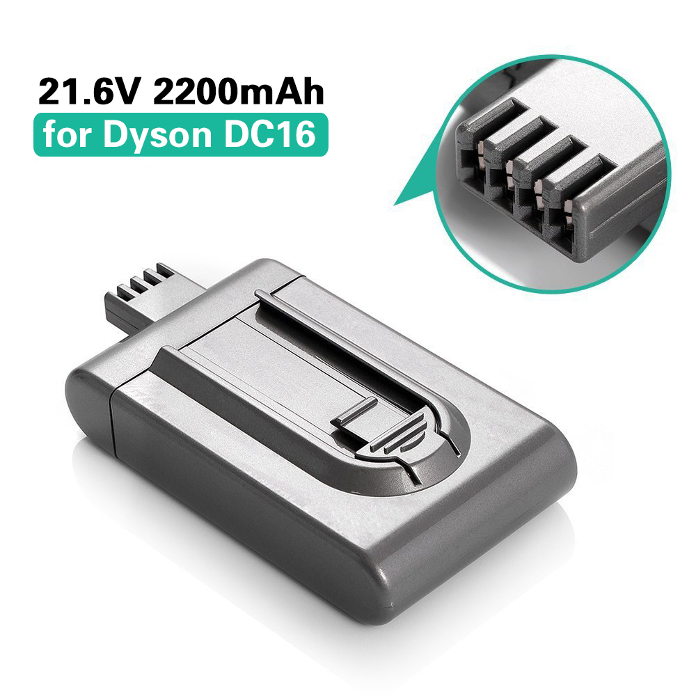 21.6V 2200mAh Vacuum Cleaner Replacement Battery for Dyson DC16 BP01 12097 912433-01 Li-ion Rechargeable Bateria new view cgr d16s replacement rechargeable 7 2v 2200mah li ion battery for panasonic dslr black