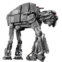 05050 05130 Star plan 75054 AT Model AT robot The First Order Heavy Assault Walker Wars Toys Building Block Brick Gifts