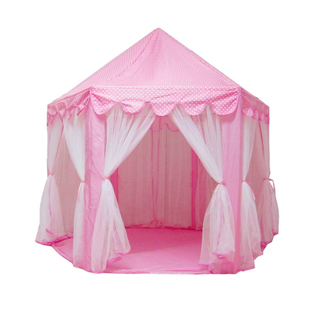 game play house mosquito princess castle fairy girls children outdoor activity indoor large capacity portable foldable toy tents south korea six large angle princess castle tulle children toy house large game room selling mosquito tent puzzle tent toy