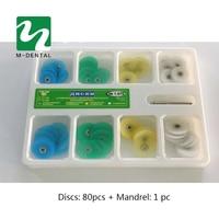 Dental Finishing And Polishing Discs Polishing Strips Mandrel Set Dental Supplies Resin Filling Material For Dentistry