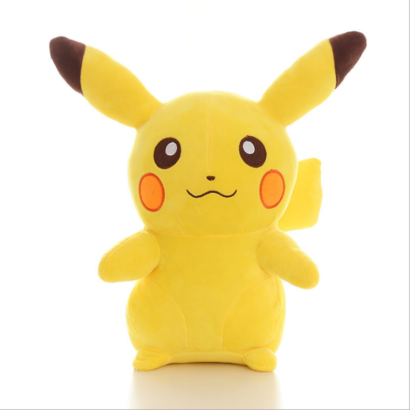 35cm Pikachu Plush Toys Children Gift Cute Soft Toy Cartoon Pocket Monster Anime Kawaii Baby Kids Toy Pikachu Stuffed Plush Doll hot cute pikachu plush toys 22cm high quality plush toys children s gift toy kids cartoon peluche pikachu plush dolls for baby