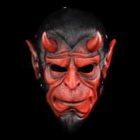 High Quality Hellboy Masks Resin Horror Movie Cosplay Halloween Masquerade Ball Grimace Demon Masks