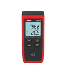 UNI T UT320D Mini K J Type font b Digital b font Thermocouple font b Thermometer