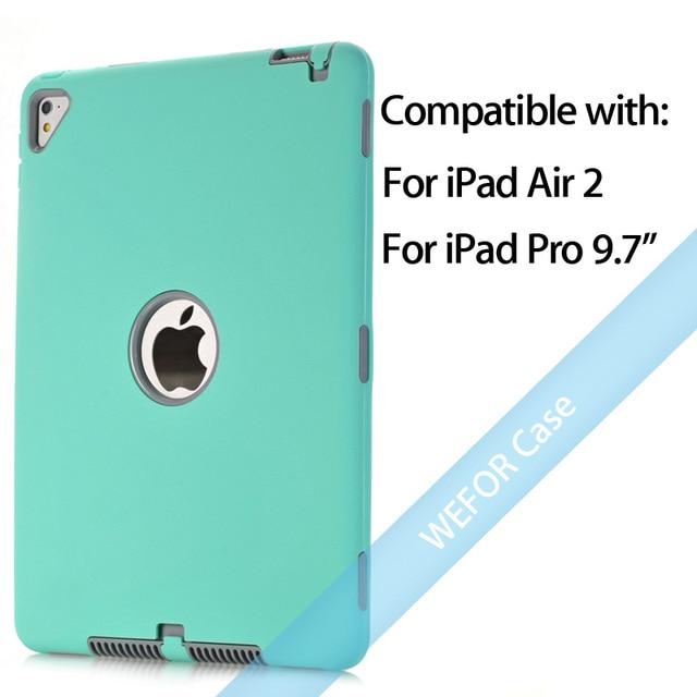 Mint Green and Grey Ipad pro cover 5c649ed9e3623