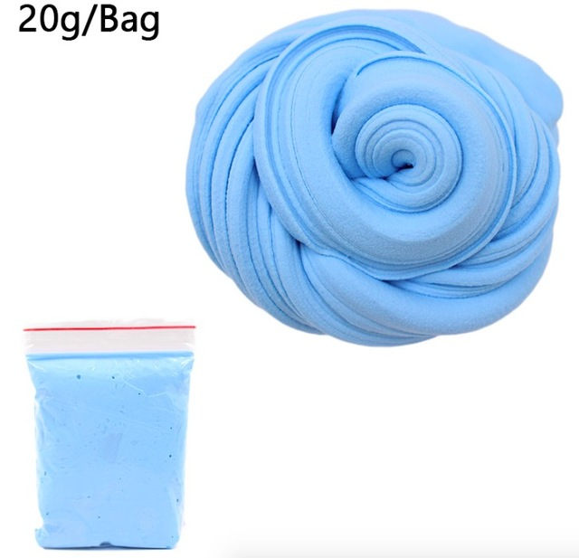 slime fluffy slime cloud slime modeling clay glue slime toy for kids children antistress reliever lizun floam beads