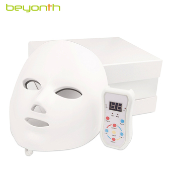 BEYONTH PDT Photon 7 Colors LED Facial Mask  Anti-Aging Face Mask Wrinkle Removal Therapy Beauty Tool  Facial Mask