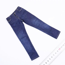 1/6 Scale Male Straight Jeans Fashion Pants Clothes Fit 12'' Figure Body fit 12